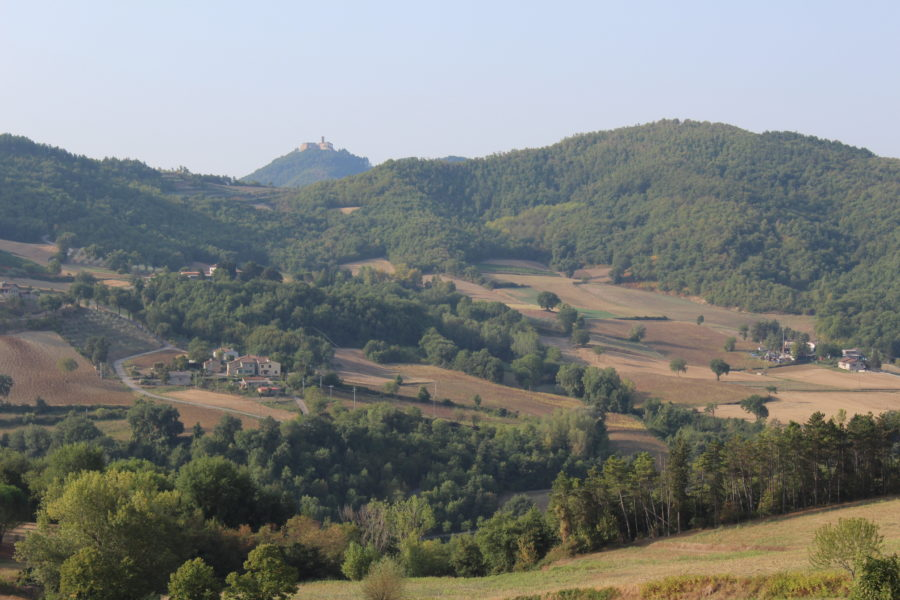 Castle of Santa Maria Tiberina in the distance (Photo: © Henri Craemer)