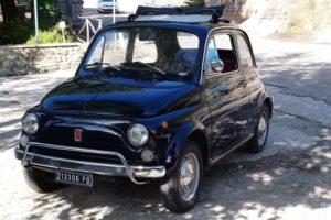 Fiat 500 at Bar Sasso