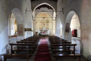 Inside Pieve di Saddi (Photo: © Henri Craemer)
