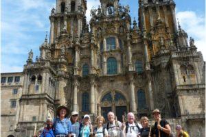 Pilgrims arrived at Santiago de Compostela, Spain in 2010. Source: https://frescotours.com/blog/wp-content/uploads/Fresco-Tours-4891.jpg