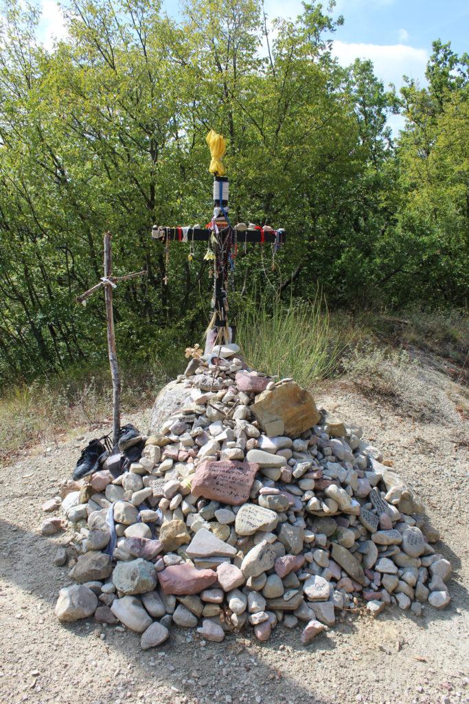 The Pilgrms' cross. (Photo: © Henri Craemer)