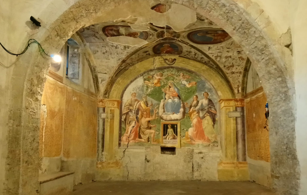 Chiesa dei SS. Giovanni e Paolo with its frescoes dating back to the 12TH to 14th centuries. (Photo: © Henri Craemer)