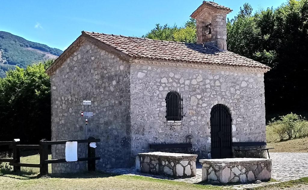 The Chapel near Faggio San Francesco. A relic of the Saint is stored in the chapel. (Photo: © Henri Craemer)