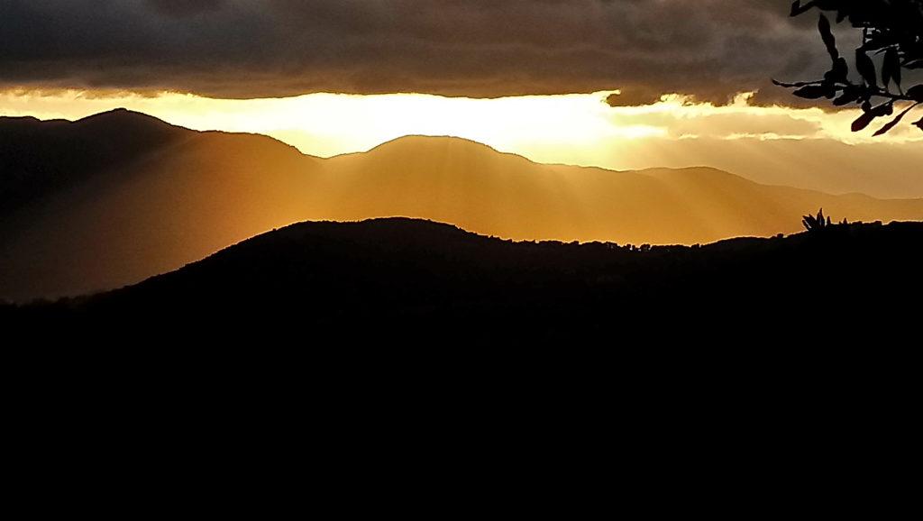 Sunset of Valle Santa (Photo: © Henri Craemer)