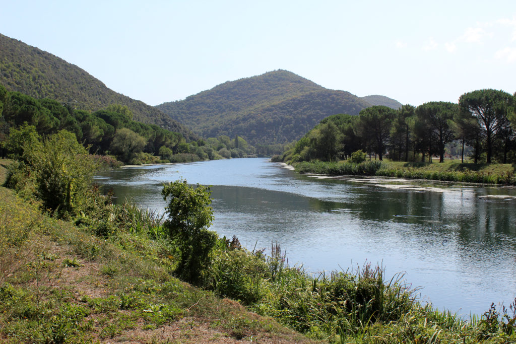 The Velino River between Piediluco and Cascata Marmore. (Photo: © Henri Craemer)