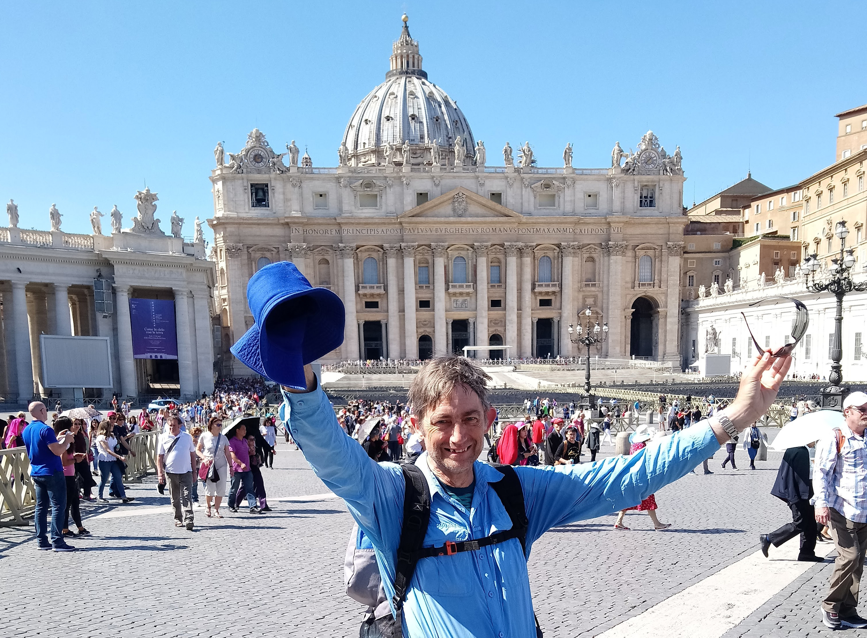 Arrival at St Peter's