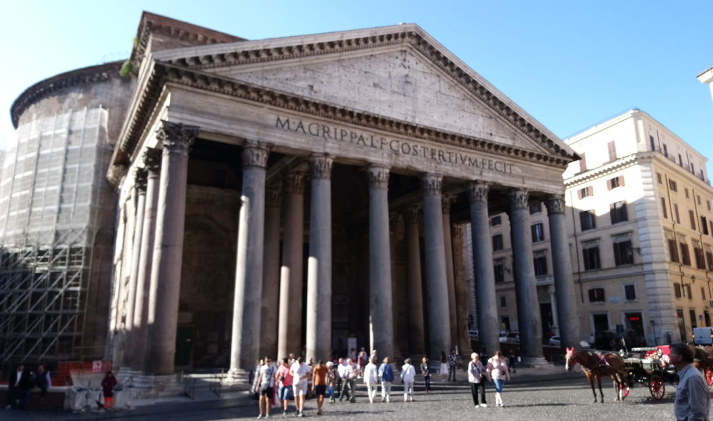 The Pantheon was repurposed by the Catholic Church in the 7th century as the church of St. Mary and the Martyrs (Photo: © Henri Craemer)