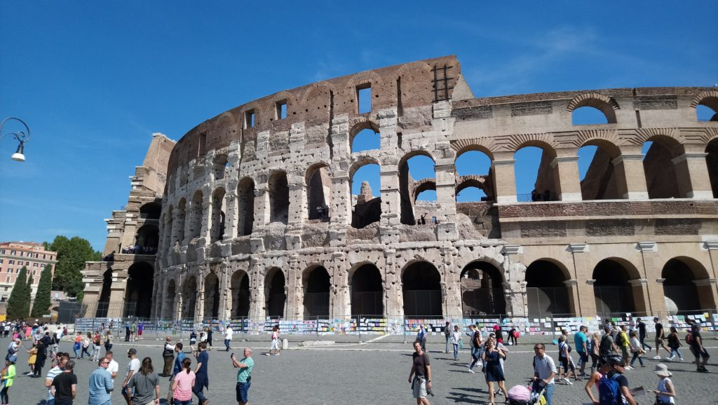 The still mighty Colosseum, although what remains is only one third of its former size. (Photo: © Henri Craemer)