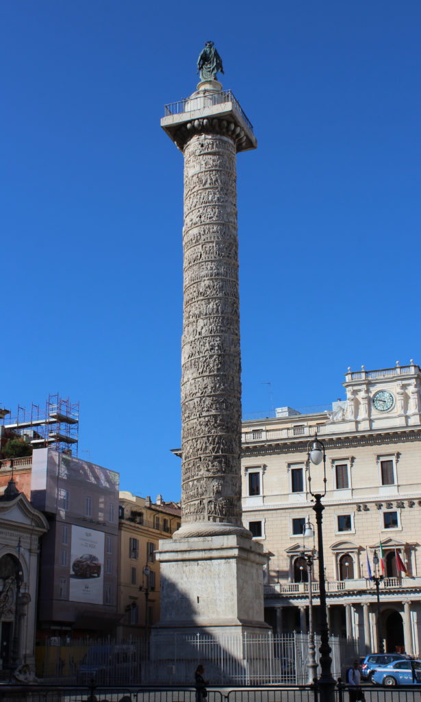 The Pillar of Marcus Aurelius (Photo: © Henri Craemer)