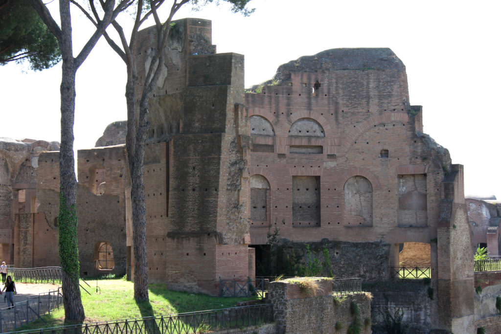 Palace on the hill – Domus Agustana – the remains of Caesar Augustus' place. (Photo: © Henri Craemer)