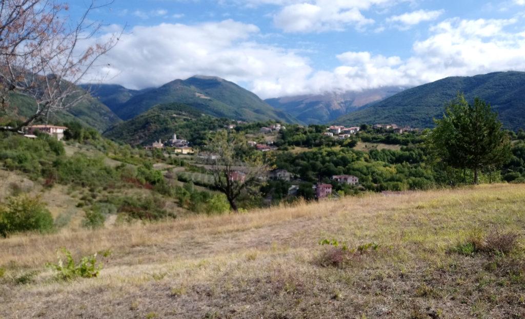 Near the end of Phase3: Village near Rieti (Photo: © Henri Craemer)