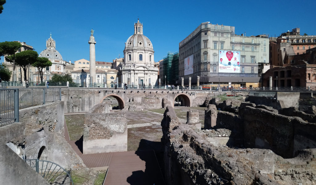 Trajan's Forum and column in Rome (Photo: © Henri Craemer)