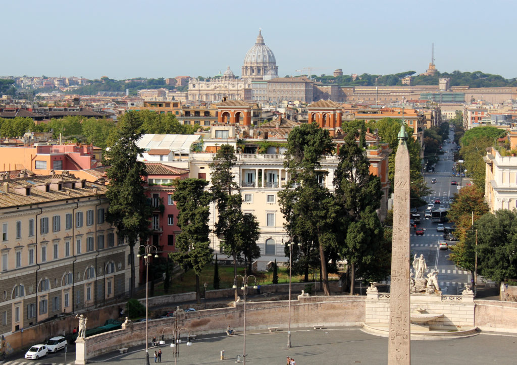 A view of Piazza del Popolo towards St Peters (Photo: © Henri Craemer)